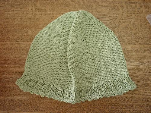 ひいおばあちゃんの帽子。